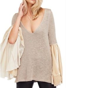 Free People Celestial Bell Sleeve Sweater